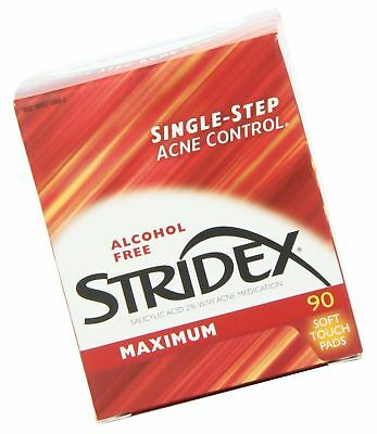 Stri-Dex Medicated Pads, Maximum Strength, 90-Count Containers, (Pack of 3)