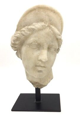 Aphrodite Greek Roman Maiden Classical Bust Museum Quality Statue 12H