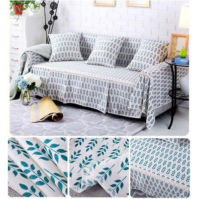 1/2/3/4 Seaters Sofa Cover Couch Skirts Furniture Protector Slipcover Anti-Skid