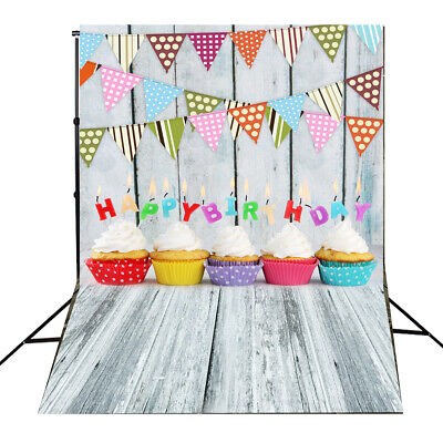 [NEW] 3x5FT Birthday Party Photography Backdrop Photo Studio Background
