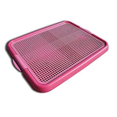 Alpha Dog Series - Indoor Puppy Potty Training Toilet Trays (Pink)