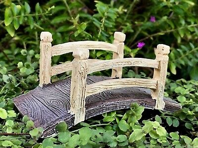 Miniature Dollhouse FAIRY GARDEN Accessories ~ Fairy Footbridge Bridge ~ NEW