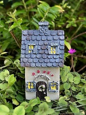 Miniature FAIRY GARDEN Accessories ~ Micro Mini Itty Bitty Bungalow House ~ NEW