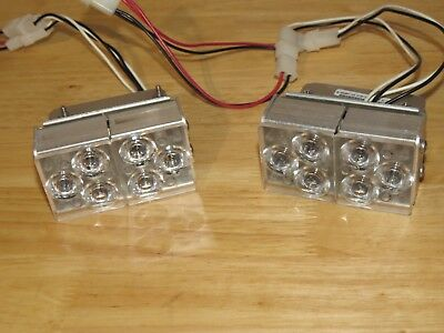 Whelen Freedom Dual LR-11 Super LED Alley Lights with mounts