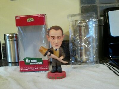 neca head knockers a christmas story the old man bobblehead