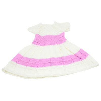 """Pink Winter Sweater Skirt Fits for 18"""" American Girl Doll Clothes Accessory"""