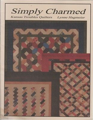 Kansas Troubles Quilters SIMPLY CHARMED Quilt Patterns