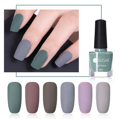 UR SUGAR Matte Nail Polish Pure Color Manicure Nails Varnish Matte Series Salon