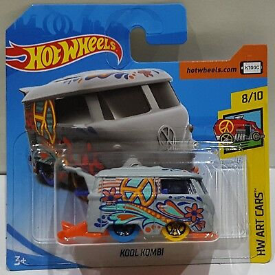 Hot Wheels 2018 Kool Kombi Hw Art Cars 8/10 Fjw77