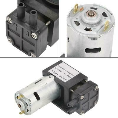 1pc DC24V 42W Mini Small Oilless Vacuum Pump -85KPa Flow 40L/min for Gas Air