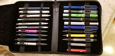 21 LAMY Pens.  Brand New with Case!