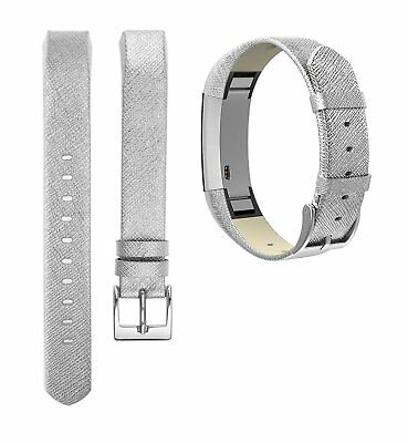 Leather Watch Band Adjustable Replacement Strap Wrist Small For Fitbit  Alta HR