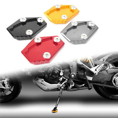 Motor Side Kick Stand Extension Plate Fit DUCATI Monster 795/796/821/1200/1200S