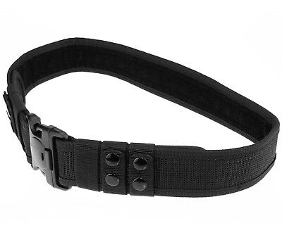 """28"""" to 38"""" Heavy Duty Load Bearing Waist Belt Buckle Military Security Guard"""