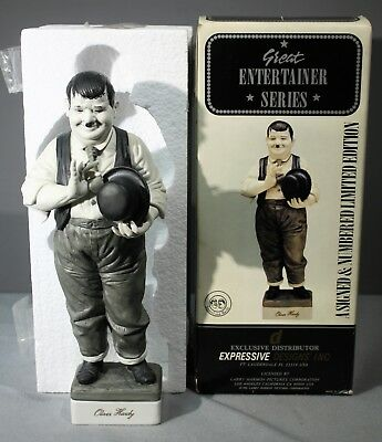 Limited Ed. Great Entertainer Series Expressive Designs Oliver Hardy w/ COA