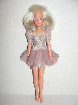 Hasbro Jem and the Holograms Jerrica Doll With Light up earrings Vintage 1985