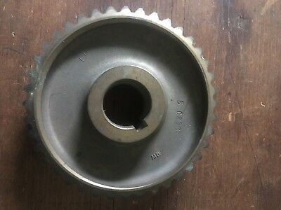 "Worm Drive Gear 4"" Diameter / Unknown Origen, Steampunk Industrial project"