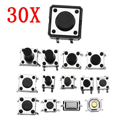 [NEW] Total 360pcs Tactile Tact Mini Push Button Switch Packet Micro Switch Bags