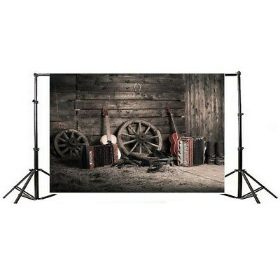 [NEW] 7x5ft Vintage Grunge Farm Room Thin Vinyl Photography Backdrop Background