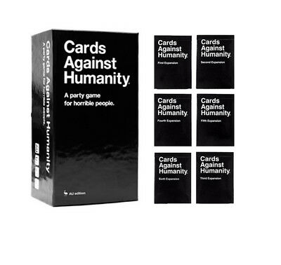 Cards Against Humanity Australian Edition Main2.0 + 1-6 Expansions Free Shipping