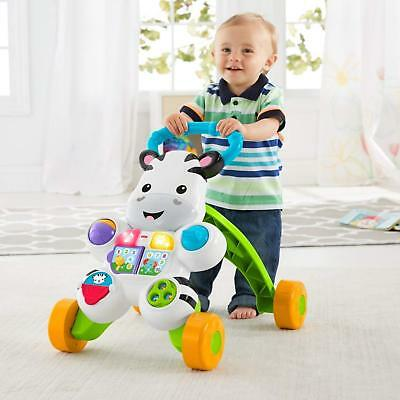 Toddler Baby Walker Learning to Walk Balance Push Walking Assist Aid Rolling Whe