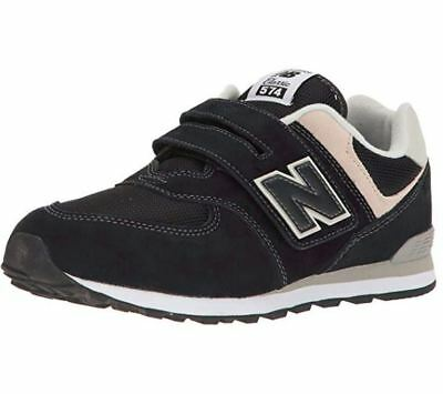 NEW BALANCE 574 SERIES RED//BLACK KL574F5I RUNNING SNEAKER INFANT TODDLER SHOES C