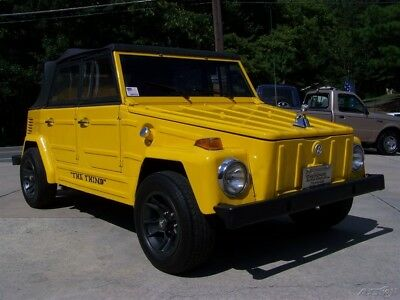 1973 Volkswagen Thing SHARP GEORGIA CONVERTIBLE 1.6L 1600CC 4-SPEED CRUISER RIG