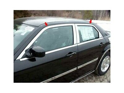4PC Stainless Steel Window Trim Package - WP45767 For CHRYSLER 300C 2005-2010