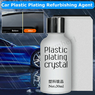 New 2018 Car Plastic Plating Refurbishing Agent Coating Polishing Car Protection