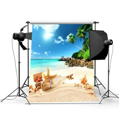[NEW] 3x5ft Summer Beach Scene Theme Photography Backdrop Photo Background Studi