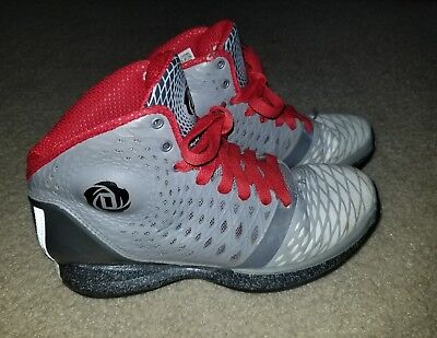 new concept ee568 25400 Adidas D Rose Athletic Basketball Sneakers Size 6 Youth Derek Tennis Shoes
