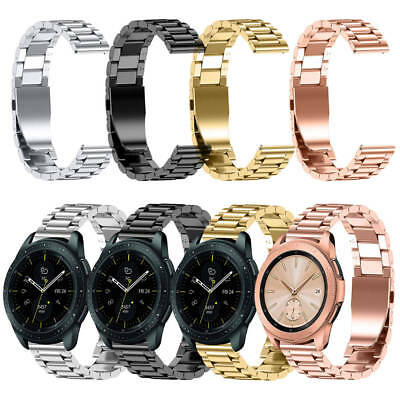Acero Inoxidable Banda de Reloj Pulsera Correa para Samsung Galaxy Watch 42/46mm
