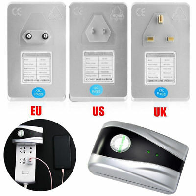 Home Eco Electricity Power Saving Box US UK EU Plug Energy Factor Saver 30% Tool