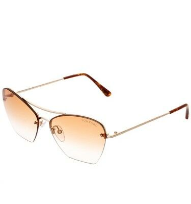eab983e206 New Tom Ford Annabel sunglasses TF0507 28F 58 Gold Brown Gradient FASHION  TF 507