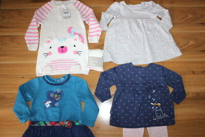 NEXT F&F TU TucTuc girls winter bundle 6-9 months *I'll combine postage*(115)