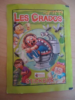 POCHETTE VIDE * Les CRADOS 3 * 2004 album card Sticker Garbage Pail Kid FRANCE