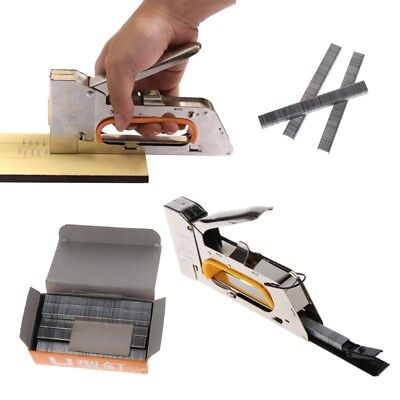 Manual 1008F Nail Stapler U Nail Staple Gun for Wood Furniture Household Use