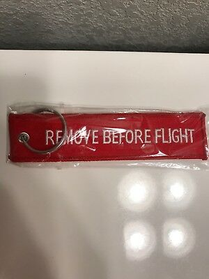 Remove Before Flight Keychain Ships From U.S.
