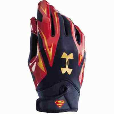 Receivergloves, F4  navy/rot Superman,  Under Armour
