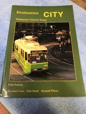 Vintage Book Melbourne Electric Trams Met Australia Public Transport Train