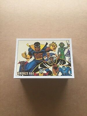 2012 Marvel The Bronze Age Trading Card Set (81)