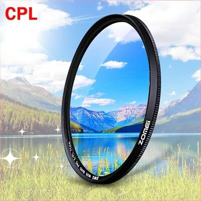 ZOMEI CPL Circular Polarizer Camera filter for lens 52/55/58/62/67/72/77/82mm