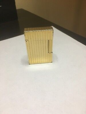 Accendino Linea 2 Placc. Oro - Briquet Lighter Feuerzeug