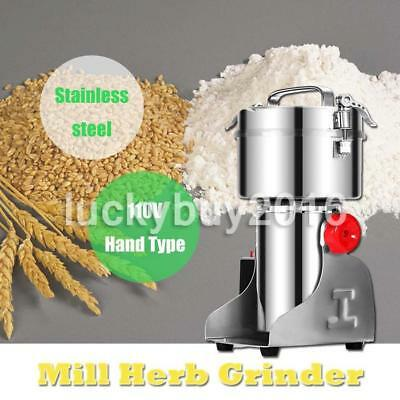 2000G Home Electric Herb Grain Cereal Mill Grinder Herbs Grinding Flour Machine