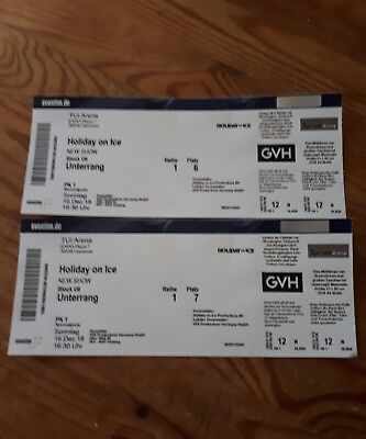Musical tickets holiday on ice