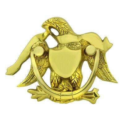 Liberty Eagle Door Knocker For Front Door Solid Brass