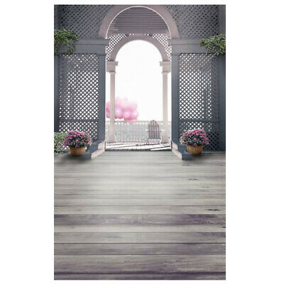 [NEW] 1PCS Only Vinyl Palace Gate Photography Backdrop Photo Background Studio E
