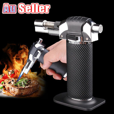 Windproof Refillable Outdoor Butane Gas Baking Flame Welding Torch Jet Lighter