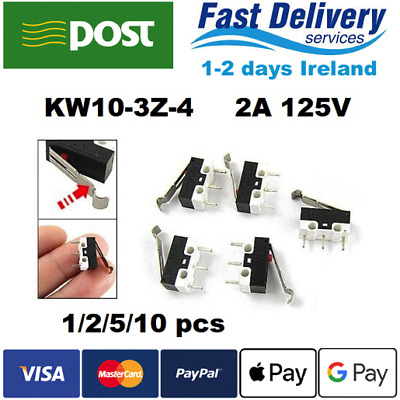 Micro Switch KW10-3Z-4 2A 125V SPDT 3pin 1/2/5/10pcs