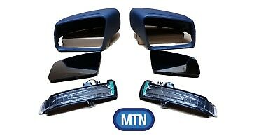 Mercedes C Class 2009-2014 W204 Wing Mirror Covers Indicators Glass Left Right